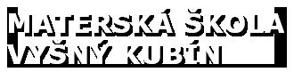 Materská škola Vyšný Kubín logo